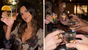 Kendall Jenner and Kardashians Celebrate Kendall's 818 Tequila
