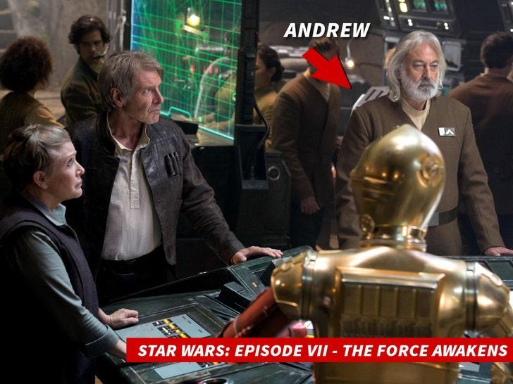 'Star Wars' Actor & Dialect Coach Andrew Jack Dies from Coronavirus