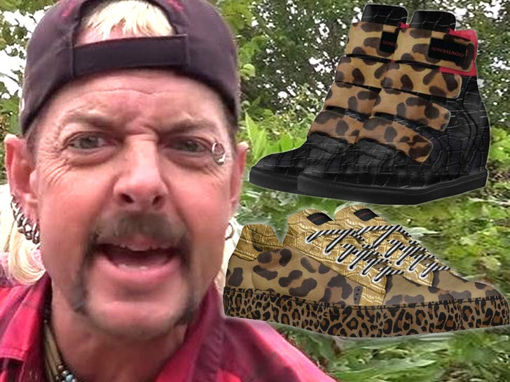 Joe Exotic Shoe Line For 'Tiger King' Anniversary