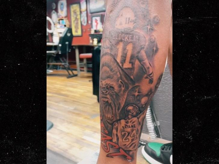 PJ Locke tattoo