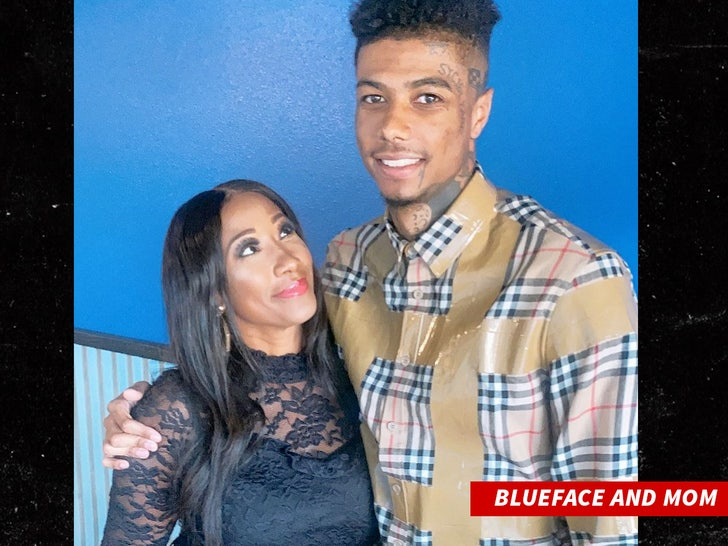 blueface and mom