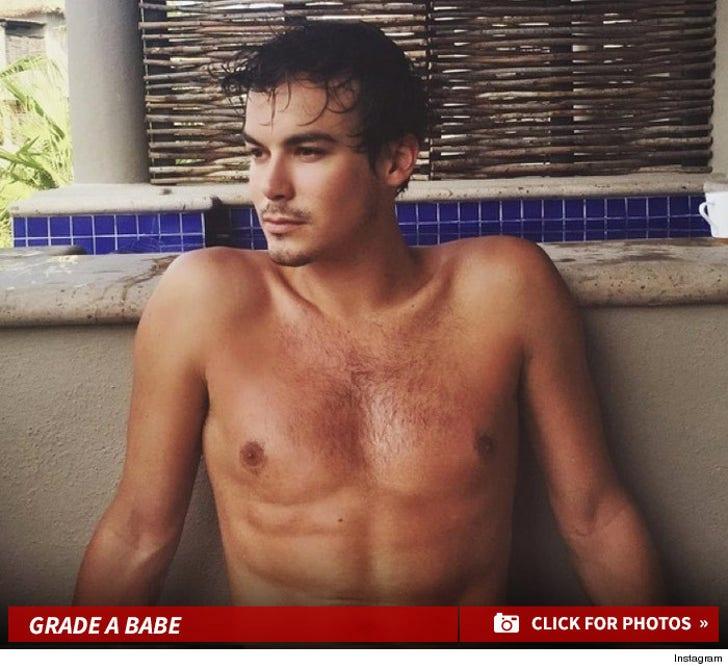 Tyler Blackburn's Sexy Snapshots
