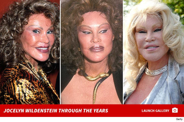 Jocelyn Wildenstein Through the Years
