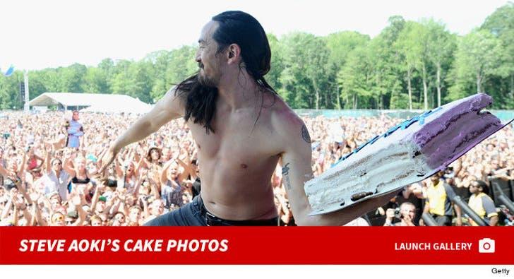 Steve Aoki's Cake Shots