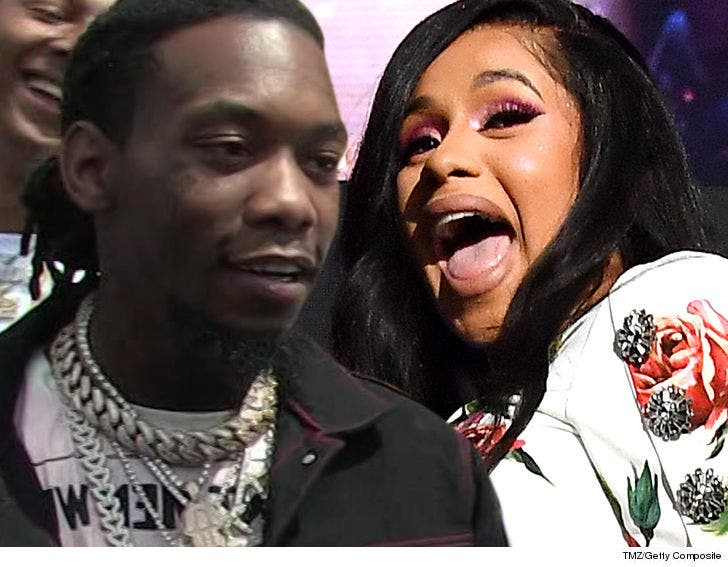 Cardi B And Offset Got Married While No One Was Watching: Cardi B And Offset Got Married On A Whim In Their Bedroom