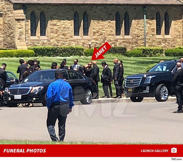 Joe Jackson Funeral Photos