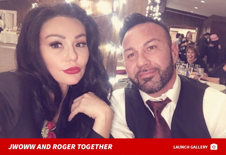 JWoww and Roger Mathews Together