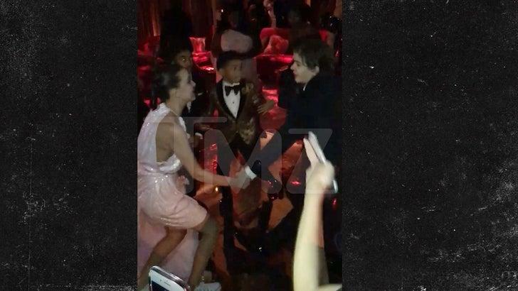 Stranger Things' Kids Get Down at Netflix SAG Awards After-Party
