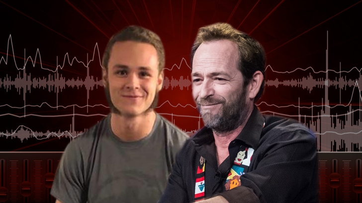 Luke Perry's Son Opens Up About Working With Dad On