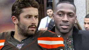 Baker Mayfield Rips Troll With Shot at AB, Let Me Go Freeze My Feet Off