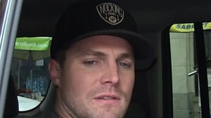 Stephen Amell Removed from Flight After Allegedly Berating Wife