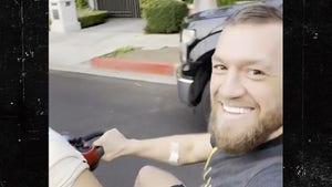 Conor McGregor Addresses Fans After Leaving Hospital, I'll Be Back!!