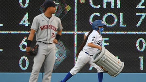 Dodgers Fans Troll Astros With Trash Cans, Boos And 'Cheaters' Chants
