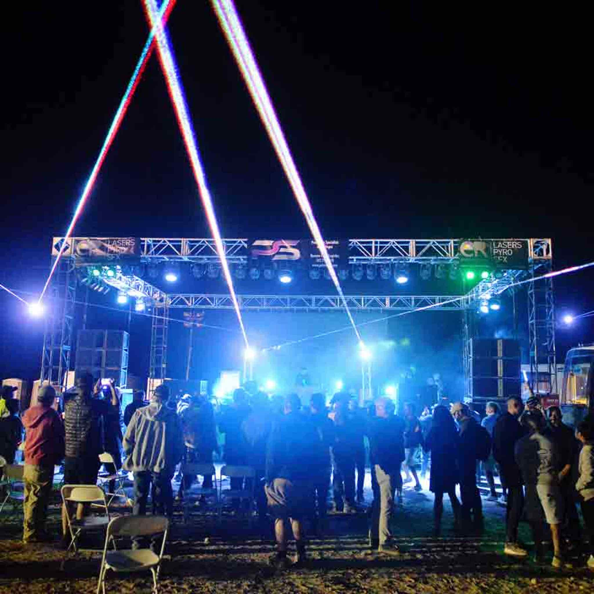 Area 51 Dance Party Does Not Attract Big Crowds or Aliens