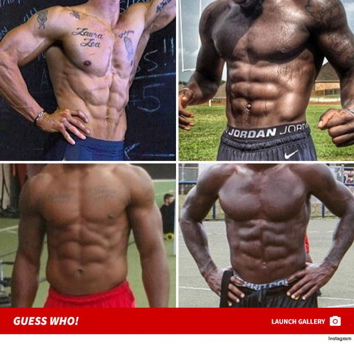 Shredded NFL Athletes -- Guess Who!