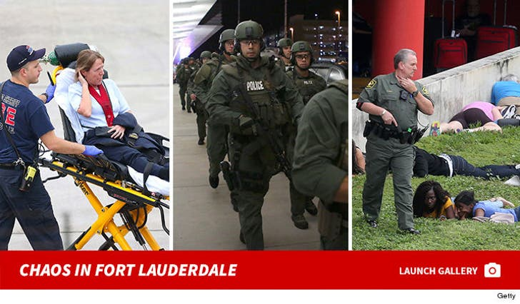 Fort Lauderdale Shooting - Chaos In The Airport