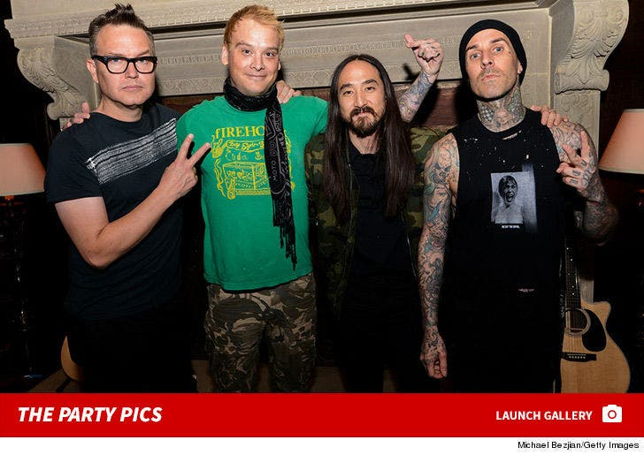 Steve Aoki's Birthday Party with Blink 182