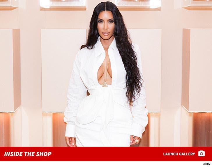 Inside Kim Kardashian's Pop-Up Shop