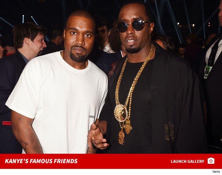 Kanye West's Famous Friends