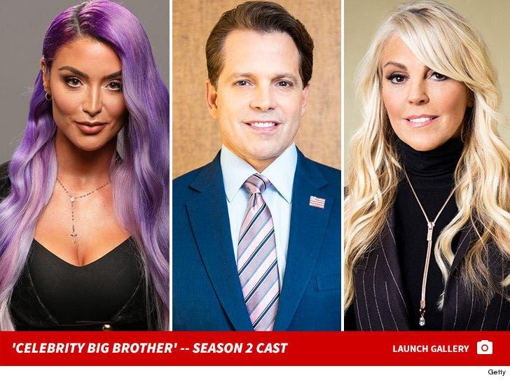 'Celebrity Big Brother' Season 2 Cast