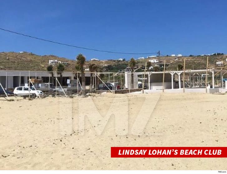 Lindsay Lohan's Beach Club From MTV Reality Show is ...