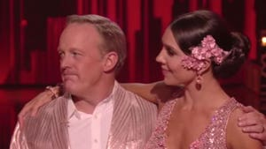 Sean Spicer Eliminated From 'DWTS' Despite President Trump Push