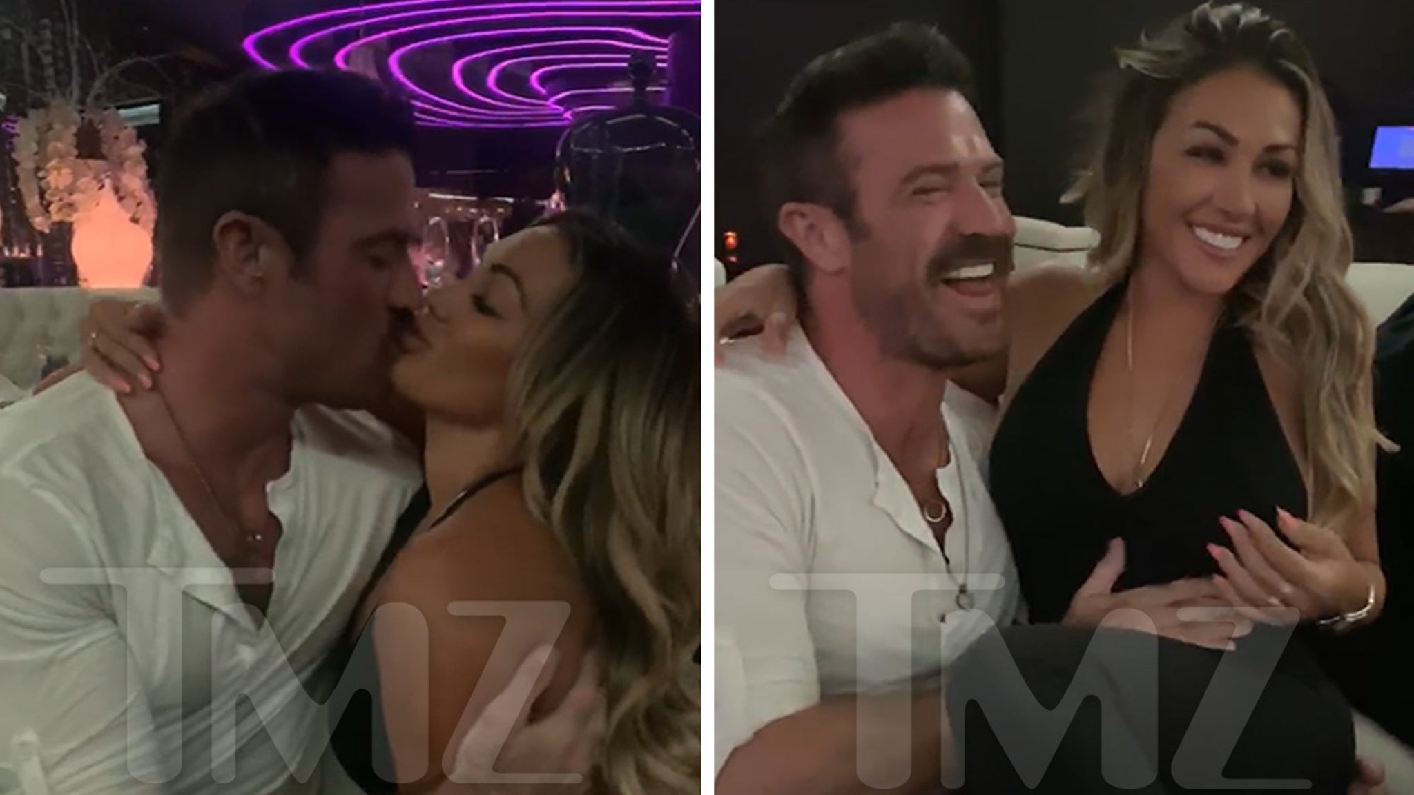 Ronnie Magro's Ex Jen Harley Makes Out with Chad Johnson in Vegas - TMZ