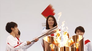 2020 Olympic Torch Relay Resumes In Japan After 1 Year Delay