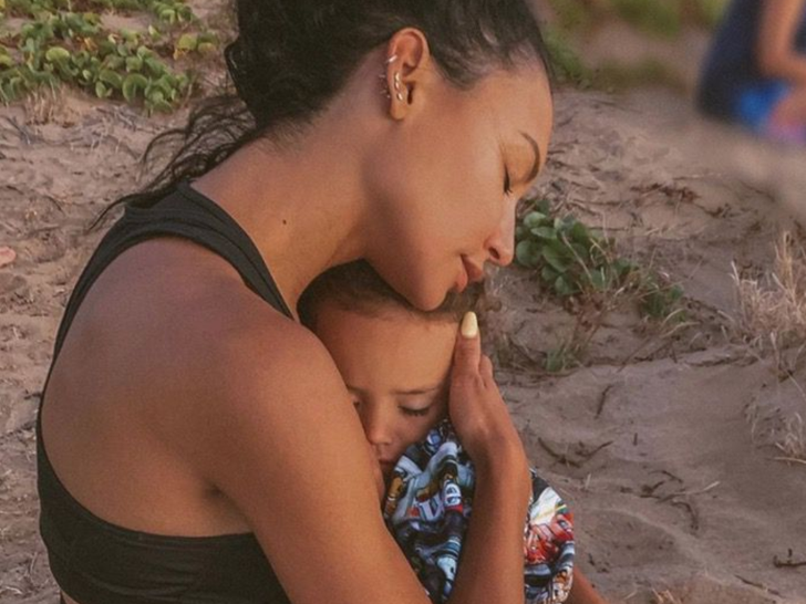 Naya Rivera and Josey Dorsey -- Mother/Son Photos