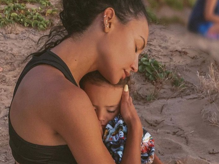 Naya Rivera and Josey Dorsey -- Mother/Son Photos