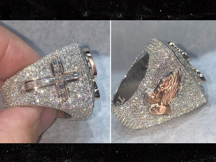 robby anderson chosen one ring