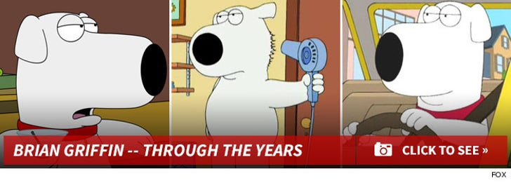 Brian Griffin -- Through the Years