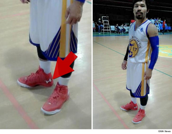 296e65e0 Under Armour: We're NOT In Talks with Pacquiao