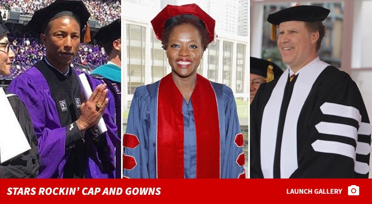 Celebrity Caps & Gowns -- Congratulations!