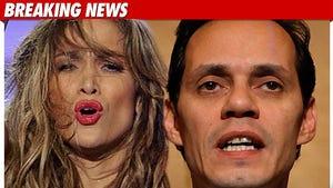 Jennifer Lopez and Marc Anthony SPLIT
