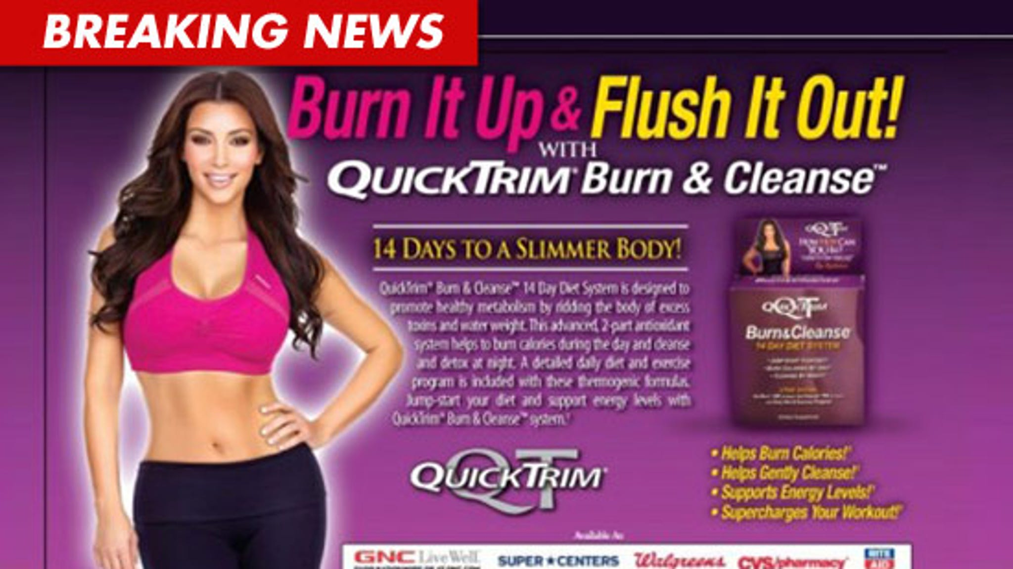 Kim Kardashian Sisters Sued For 5 Mil Your Quicktrim Diet