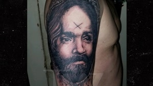 Charles Manson Fanboy Gets Tattoo with His Ashes Sprinkled In