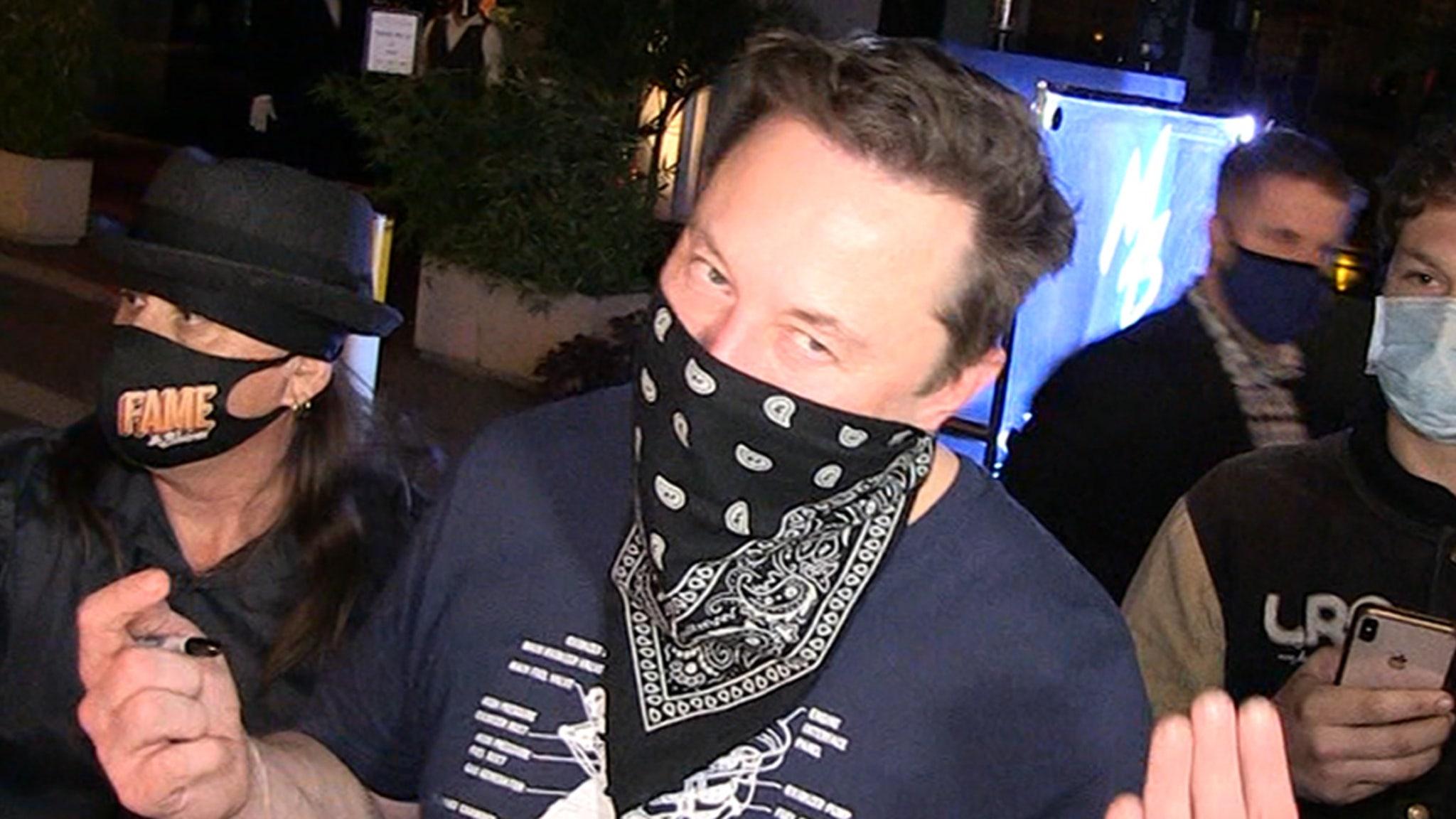 Elon Musk Says He's Not Leaving California Despite Tesla Announcement -