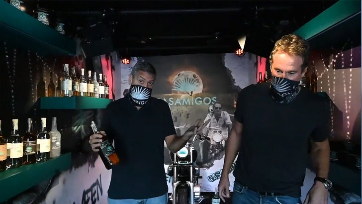 GEORGE CLOONEY, RANDE GERBER WE GOT YOUR HALLOWEEN SPIRITS ... Tequila, Anyone??? 6bfaa203051b4c48b91b5905222723a9_md