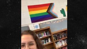 Orange County Teacher Suggests Students Pledge Allegiance to LGBT Flag