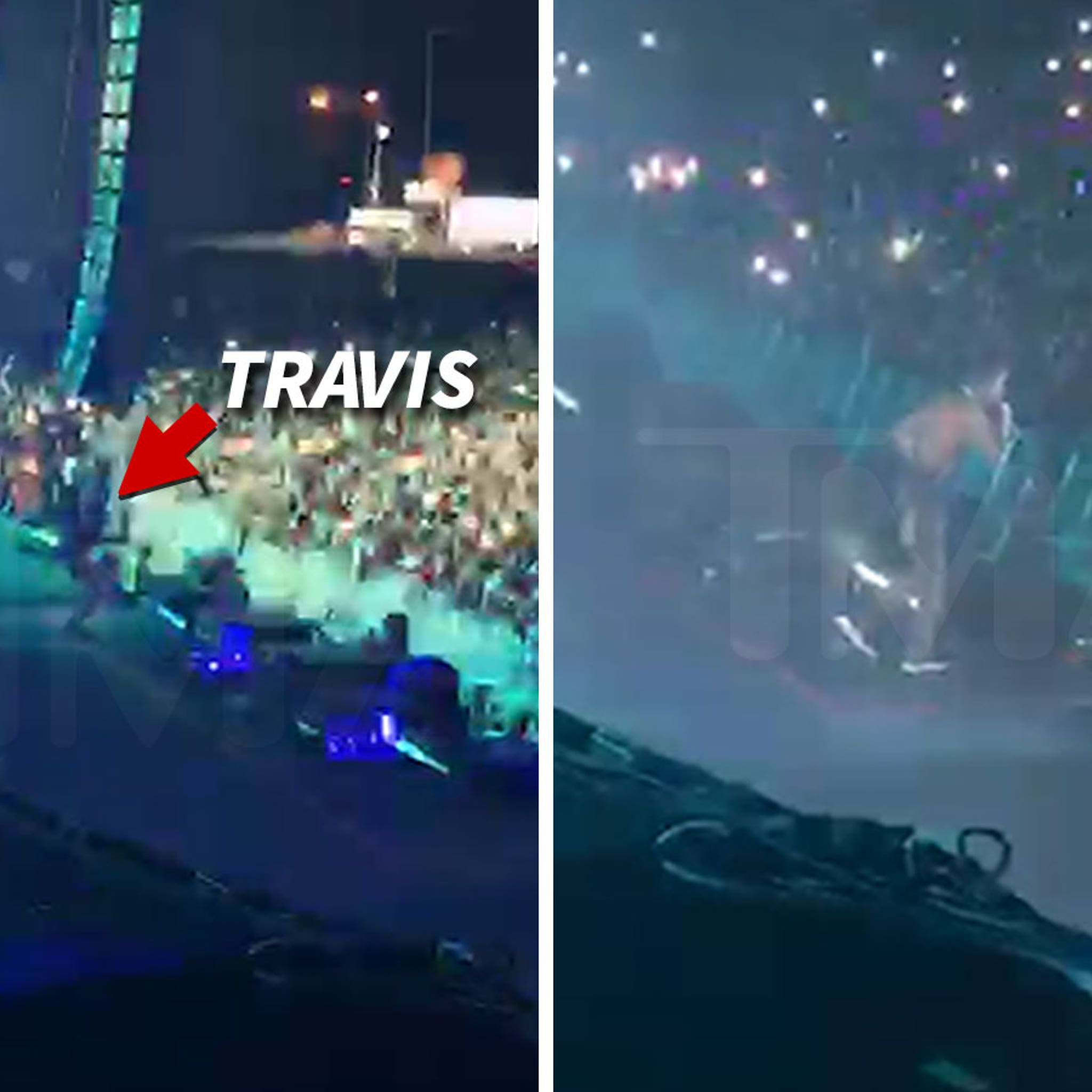 Travis Scott Falls During Rolling Loud Concert and Injures His Knee