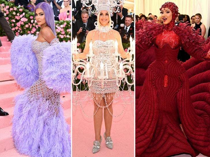 The 2019 Met Gala -- Fashion Photos