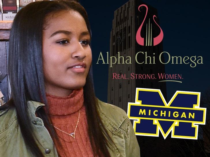 Sasha Obama a Sorority 'Rush Crush' at University of Michigan