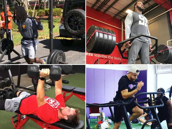 NFL Workouts -- Play Hard, Train Harder