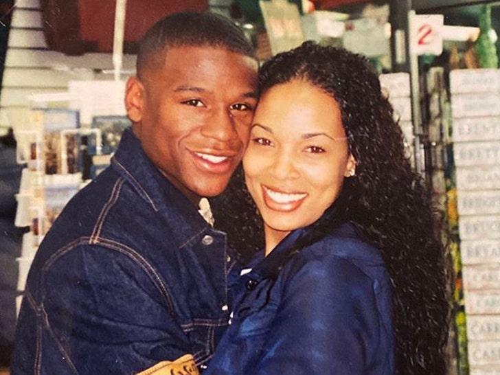 Floyd Mayweather and Josie Harris