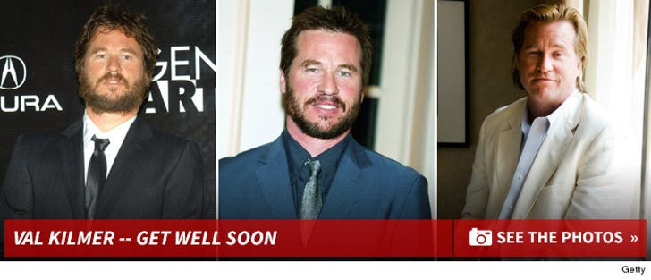 Val Kilmer -- Through the Years