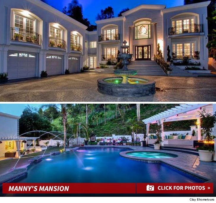Manny Pacquiao's New Beverly Hills Home