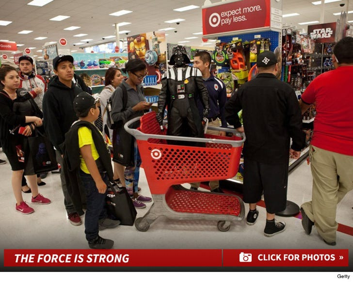 The Force Awakens! -- Star Wars' Fans Swarm Stores For #ForceFriday