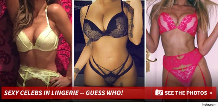 Sexy Celebs In Lingerie -- Guess Who!