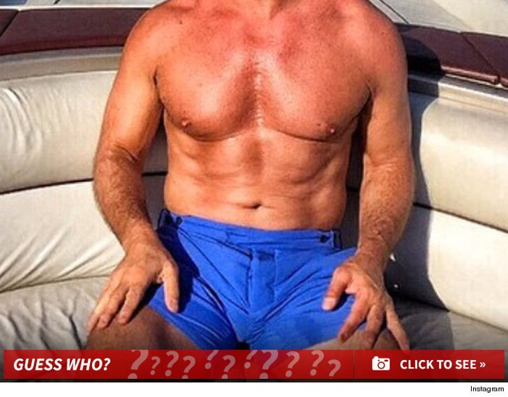 Celebrity Six Packs -- Guess the Washboards!